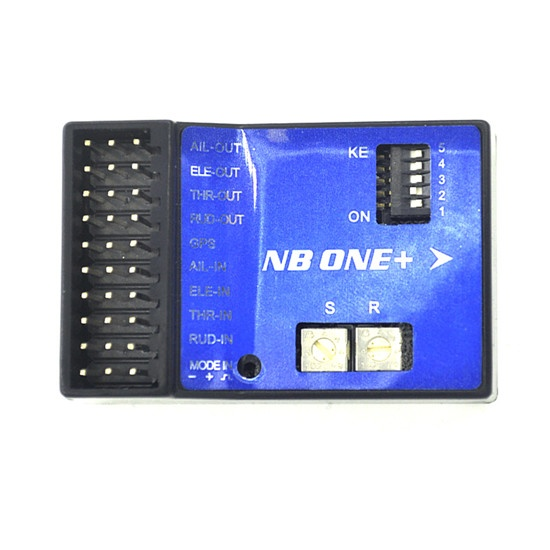 NEW NB One 32 Bit Flight Controller Built-in 6-Axis Gyro with Altitude Hold Mode + GPS Module for FPV RC Fixed wing