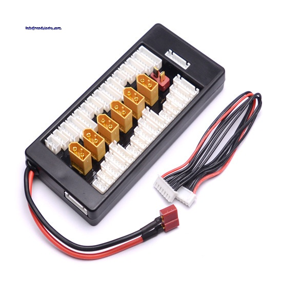 Readytosky 2-6S XT60 Lipo Battery Parallel Charging Board