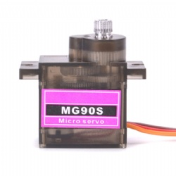 MG90S Metal Gear RC Micro Servo 9g MG90S for Trex 450 RC Robot Helicopter