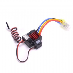 Turbo Racing Waterproof 25A TB-60025 ESC Brushed Speed Controller 1A / 6V BEC for 1/8 RC Car truck