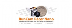 Runcam Racer Nano FPV Camera the Smallest Best FPV Racing Gesture Control 16:9 4:3 PAL/NTSC Switchable 14*14mm for Quadcopter