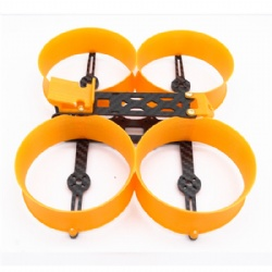 Donut 140 140mm Frame Kit 3inch Mini Drone H Type Frame with Prop Guard Compatiable with 1306 1407 motors for DIY RC FPV Racing