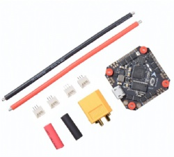 JHEMCU GHF411AIO F4 OSD Flight Controller Built-in 30A BL_S 2-4S 4in1 ESC for Toothpick FPV Racing Drone