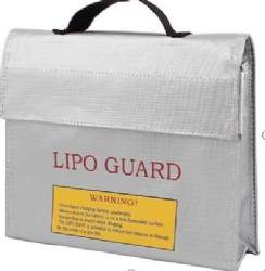 High Quality Fireproof Explosionproof RC LiPo Battery Safety Bag Safe Guard Charge Sack 240*65*180MM