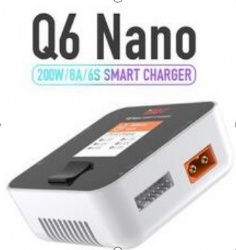 ISDT Q6 Nano 200W 8A 2-6S Battery Balance Charger For RC Car Airplane Racing Drone Helicopter 2-6S Lipo Lion LiHv LiFe