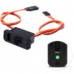 1 PC Heavy Duty RC Switch With LED Display JR RC On Off Connectors Accessory For Receiver RC Accessories New