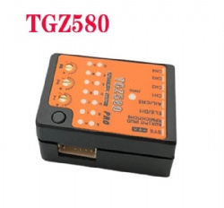 TGZ580 3-Axis Gyro' FBL Altitude Control Smart Flight System For T-Rex 250-800 RC Helicopter