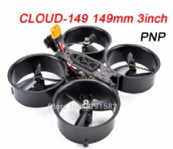 CLOUD 149 149mm 3inch Carbon Fiber Frame 1306 / 1407 Motor 25A BLHELI_S ESC Mini F3 / F4 700TVL Camera FPV Racing RC Drone